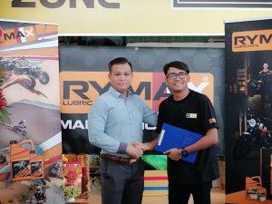Rymax Lubricants Vietnam chính thức hợp tác cùng 368 Team Wash Coffee từ ngày 08/10/2019