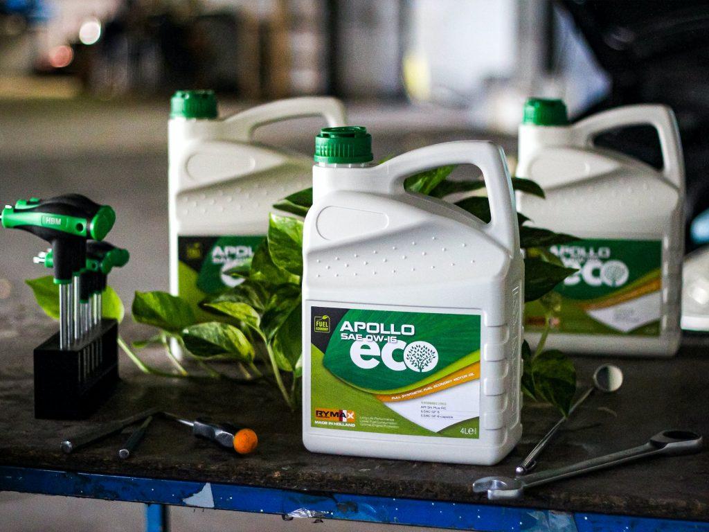 Rymax Lubricants giới thiệu dòng Apollo ECO: không chỉ là tiết kiệm nhiên liệu.
